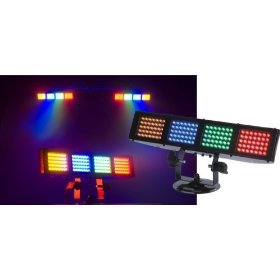 American DJ Color Burst LED 4 Pixel Bank LED Color Bar