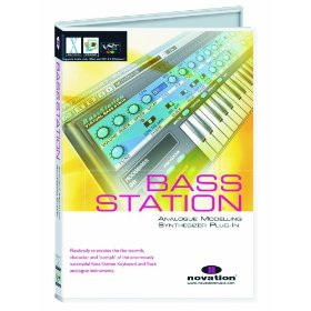 Novation B-Station Bass Station Virtual Analogue Synthesizer Plug-In