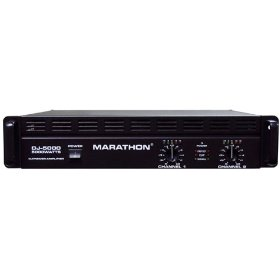 Marathon DJ-5000 DJ Series Amplifier 700@8 Ohms - 1400@4 Ohms - Up To 5000@8Ohm BrIDge