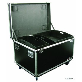 Odyssey FZUT2W Flight Zone Ata Utility Trunk With Wheels And Adjustable Compartments