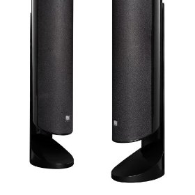 KEF KHT5005DESKSTBL Desk Stand for KHT5005 Speaker System (Gloss Black)