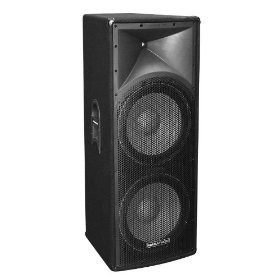 Marathon Entertainer Series ENT-215 Dual 15-Inch Two Way Loudspeaker