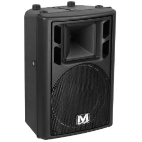 Marathon Rms-450 High Impact Bi-Amp Molded Polypropylene Powered 12-Inch 2-Way Enclosure