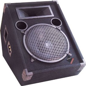 Nady 12IN Powered Floor Wedge Speaker
