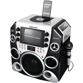 Emerson Peak Power 650 Complete CDG Karaoke System with Original Jonas Brothers Karaoke CDG, iPod Compatible
