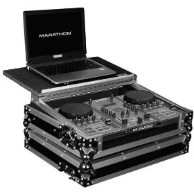 Marathon Flight Ready Case MA-Txplt Case To Hold 1 X M-Audio Torq Xponent Mixer Station + Laptop Shelf