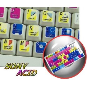 SONY ACID KEYBOARD STICKER FOR DESKTOP, LAPTOP AND NOTEBOOK