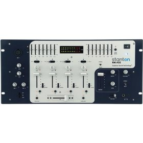 STANTON MAGNETICS RM-402 4 Channel DJ Audio Mixer