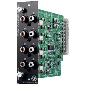 TOA D-936R Stereo Input Module 4 Stereo RCA Input Module Programmable Channel Switching