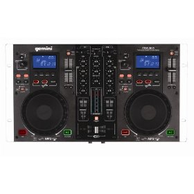 Brand New Gemini Cdm-3610 Professional Dj Dual Cd / Mp3 Player with Mixer Station and Scratching!