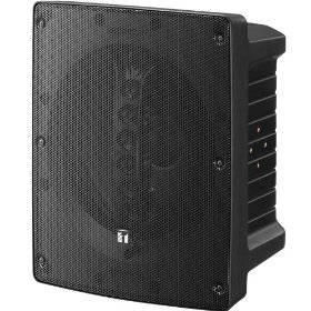 TOA HS-1200BT Coaxial Array Speaker 12 Inch Cone Woofer LF Driver, High Quality Sound, Black