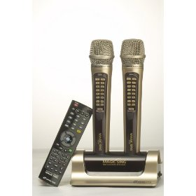 Magic Sing ET18000S ET-18000 Spanish Wireless Multiplex Karaoke Microphone 2009 Edition