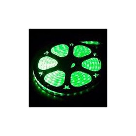 10 foot section of green 12 volt 1/2 inch led rope light