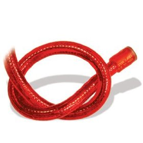 10 foot section of red chasing 12 volt rope light