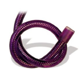 10.5 foot section of purple 3/8 inch rope light