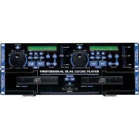 VocoPro CDG-8800Pro Professional Dual Deck CD/CD+G Player with DSP Pitch Control