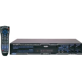 VocoPro DVG-888K Multi-Format Digital Key Control Karaoke DVD/DivX Player