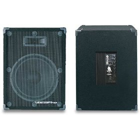 VocoPro PV-1800 400 Watt Powered Speaker System (Each)