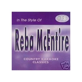REBA MCENTIRE Country Karaoke Classics CDG Music CD