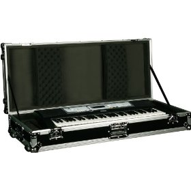 Marathon Flight Ready Case MA-Kb61W  61 Note Keyboard Case With Z-Lock Foam with Wheels
