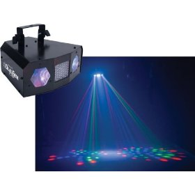 American DJ Dual Gem Pulse LED Powered Effect Light