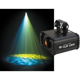 American DJ H20 LED Powered Water and Fire Effect Light