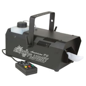 American DJ High Output Snow Flurry Machine + Timer SNOWFLURRY