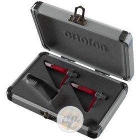 Ortofon Concorde DigiTrack Twin Pack - 2 x DJ Cartridges each fitted with stylus