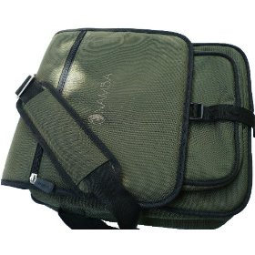 Namba Gear SLM-GN Shaka Laptop Messenger Bag, High Perfomance Bag for Musicians & DJs (Green)