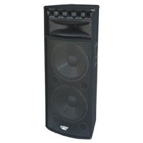 Pyle PADH215 2000W Heavy Duty Speaker MDF Construction with Reinforced Corners