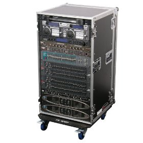 Odyssey FZAR20W Flight Zone 20 Space Ata  Amp Rack With Wheels