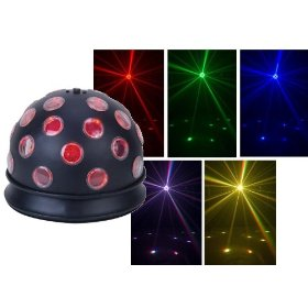 American DJ Mini Tri Ball LED Color Changing Effect Light