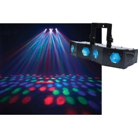 American DJ Majestic LED Powered 4 Lense Effect Light