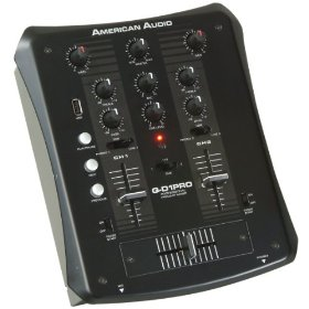 American Audio QD 1 MKII 2 Channel Mixer With USB Input