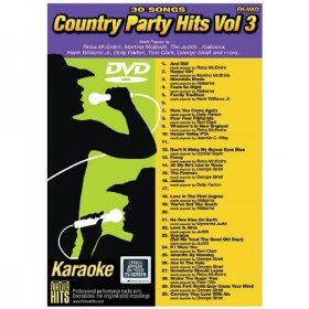 Forever Hits 4903 Country Party Hits Vol 3 (30 Song DVD)