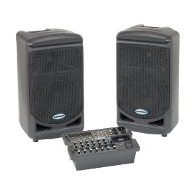 Samson XP308i Portable 8 Channel PA System, 300 Watts