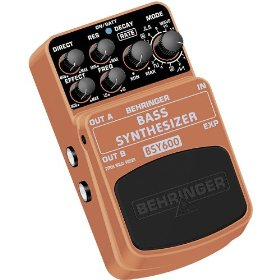 Behringer BSY600 Bass Synthesizer Ultimate Bass Synthesizer Effects Pedal