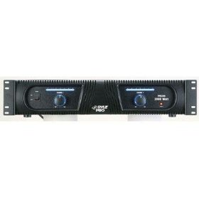 Pyle Pro PPA300 3000 Watt 2 Channel DJ Power Amplifier Rack Mount Amp