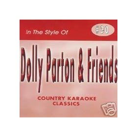 DOLLY PARTON & Friends Country Karaoke Classics CDG Music CD