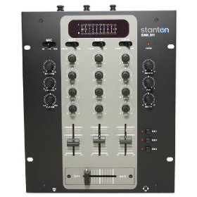 Brand New Stanton Smx.311 3 Channel Dj Mixer with Versatile Cueing