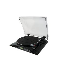 Ion Audio PROFILE FLASH LP to SD Card Conversion DJ Turntable