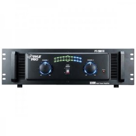 Pyle-Pro PT2001X 3300-Watt Professional DJ Power Amplifier