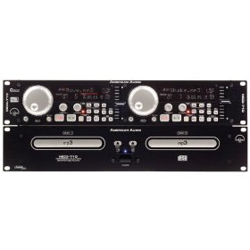 American Audio MCD-710 Dual CD MP3 Player