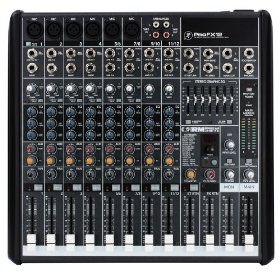 Brand New Mackie Profx-12 12 Channel Professional Compact Mixer with Built in Fx Processor and Usb