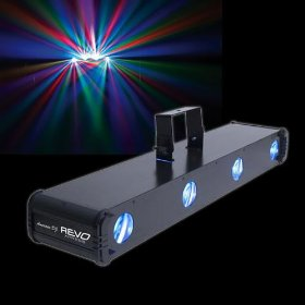 American DJ Revo Xpress LED Powered 4 Lense Effect light