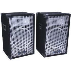 Brand New Technical Pro Stage-12u 2,000 Watts Powered Speaker + 8 Channel Mixer System + Usb/sd Card Player