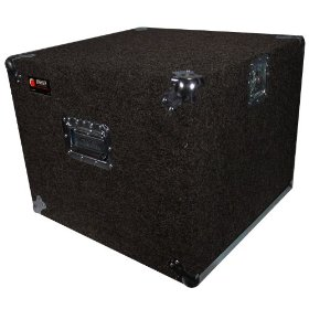 Odyssey CRP10W 10 Space 18.5 Deep Carpeted Pro Rack With Wheels