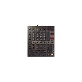5-Channel Professional DJ Mixer With Digital Special Effects - Black