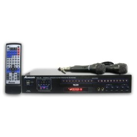 Acesonic DGX-109 USB Multi-Format Karaoke Player with SD/USB Reader + MP3 Recording