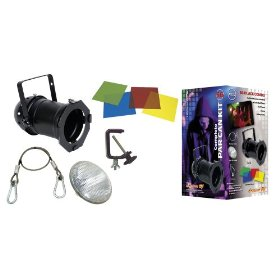 American DJ 56 Black combo Black Complete with 300W Lamp and Accessories